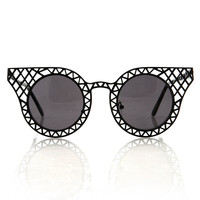 Capitol Frame Sunglasses | Trendy Sunglasses at Pink Ice
