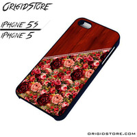 rose wood For iPhone Cases Phone Covers Phone Cases iPhone 5 Case iPhone 5S Case Smartphone Case