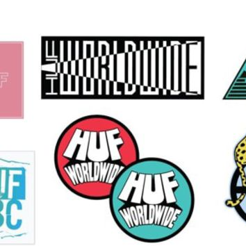 HUF Spring 17 Sticker Pack - assorted - Free Shipping