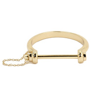 Golden Chained Hoof Bracelet