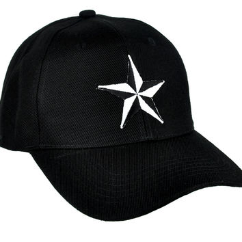 Nautical Star Hat Baseball Cap Rockabilly Clothing