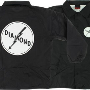 Diamond Lightning Coaches Jacket Small Black