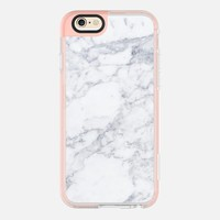 White Marble iPhone 6s case by designonfleek | Casetify