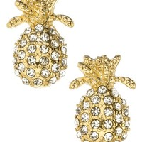 Stella + Ruby Pineapple Post Earrings | Nordstrom