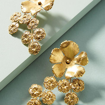 Jasmine Cluster Earrings