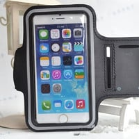 New Sports Running Gym Fitness Arm Band Case Cover Pouch For Apple iPhone 6 4.7'' for iPhone 6 Plus 5.5''