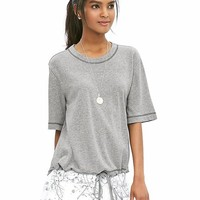 Banana Republic Womens Heritage Drawstring Sweatshirt