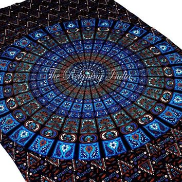 mandala tapestry wall hanging cotton tapestries hippie psychedelic ethnic 2130