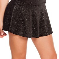 Velvet Sparkle High Waisted Skirt