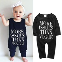 Infant Baby Boy Girl Kids Clothing Cotton Romper Jumpsuit Long Sleeve Casual Clothes Outfits Baby Boy