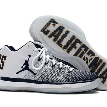 "Air Jordan 31 Retro AJ31 ""California"" Men Basketball Sneaker"