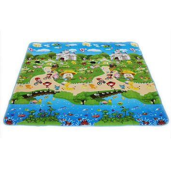 Baby Play Mat with Animals and Cartoons