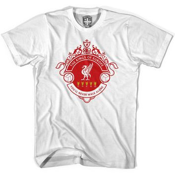 Liverpool Kings of Europe T-shirt