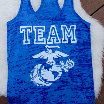 Team Marines tank top!