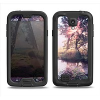 The Vivid Colored Forrest Scene Samsung Galaxy S4 LifeProof Fre Case Skin Set