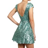 Sale-jazzy Sequin Prom Dress