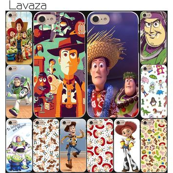 Lavaza Toy Story John Lasseter Anime Hard White Coque Shell Phone Case for Apple iPhone 8 7 6 6S Plus 5 5S SE 5C 4S X 10 Cove