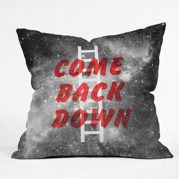 Nick Nelson Come Back Down Throw Pillow