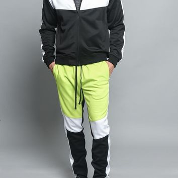 Tri Color Blocked Track Suit ST553 - V1A