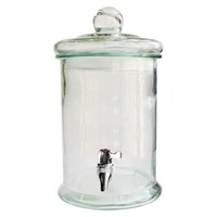 Norfolk Glass Beverage Dispenser - Clear