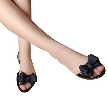 c2b3260e7 Jelly Sandals New Beach Jelly Shoes Woman Hot Summer Butterfly-k