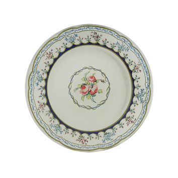 Triple Rose Round Plate - New Home, Gifts & Beauty - Catbird