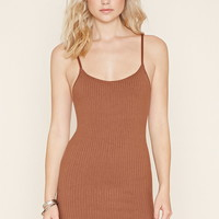 Ribbed Cami Bodycon Dress