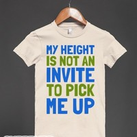 Short Girl Probz-Female Natural T-Shirt