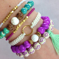 Mermaid Stacked Arm Candy Set