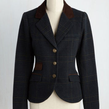 Projected Intellect Blazer | Mod Retro Vintage Jackets | ModCloth.com
