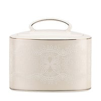 Kate Spade Chapel Hill Sugar With Lid White ONE