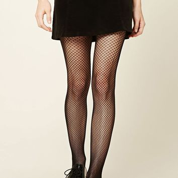Chevron Sheer Tights