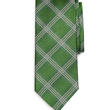 Framed Check Tie - Brooks Brothers