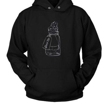 DCCKL83 Drink Me Alice In Wonderland Hoodie Two Sided