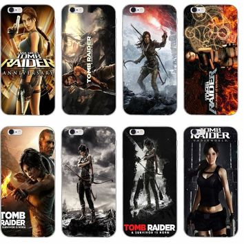 Tomb Raider silicone TPU Soft phone case For Sony xperia Z Z1 Z2 Z3 Z4 Z5 Compact Mini M2 M4 M5 E3 T3