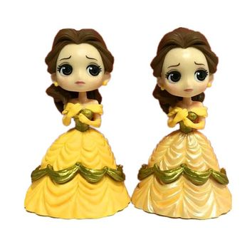 The Little Mermaid Princess Belle  Ariel PVC Figures For Kids Baby Gifts