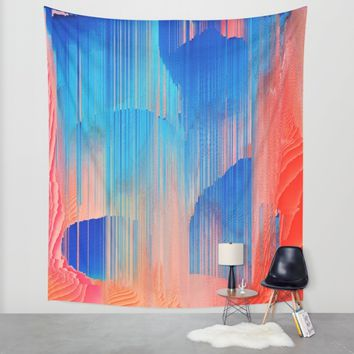 Hot n' Cold Wall Tapestry by Ducky B