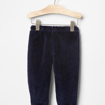 Gap Baby Sherpa Footed Pants