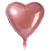 Bulk Pink Heart-Shaped Foil Balloons at DollarTree.com
