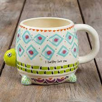 Natural Life Folk Art Mugs