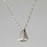 Kaitlin McKeown - Sterling Pyramid Necklace