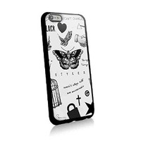 Harry Styless Tattoo One Direction for Iphone and Samsung Galaxy Case (iphone 6 black)