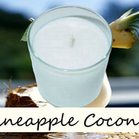 Pineapple Coconut Scented Candle in Tumbler 13 oz