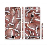 The Football Overlay Sectioned Skin Series for the Apple iPhone 6s