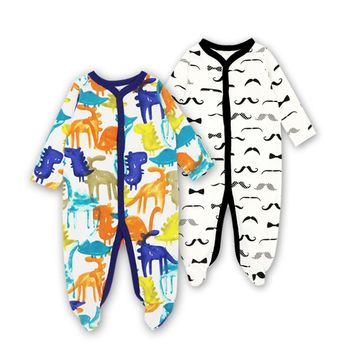 2018 Baby Girls Boys Clothing Baby Clothes Body suits Pajamas Cute Cartoon Long Sleeve Infant de bebe costumes baby Rompers