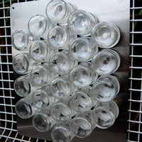 15% off FIY ROUND 24 WALL:  Fill It Yourself Spice Rack for Wall.  Includes Metal Wall Plate.  Free Shipping.