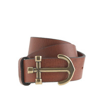 Kids' leather anchor belt