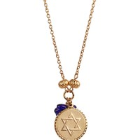 Bee Charming Jewelry Star of David Token Necklace