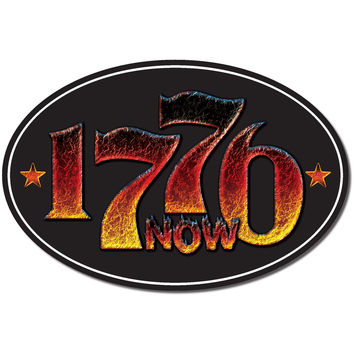 1776 Is Now 2016 Trump Revolution bumper sticker label decal