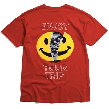 Enjoy Your Trip T-Shirt Red